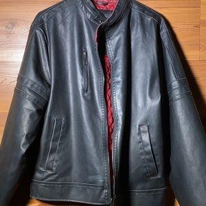 ⚫️🔴Vintage Faux Leather Brave Soul Jacket Size: M